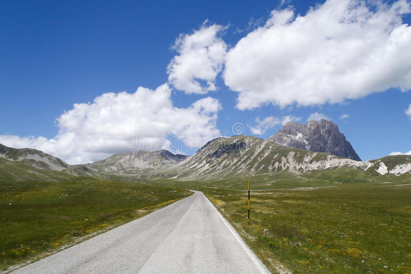 National Park Of Gran Sasso Stock Photo