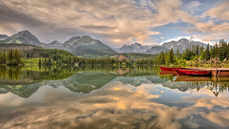 National Park High Tatra, Slovakia stock images