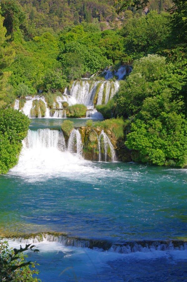 National Park Krka, river Krka, stock photo