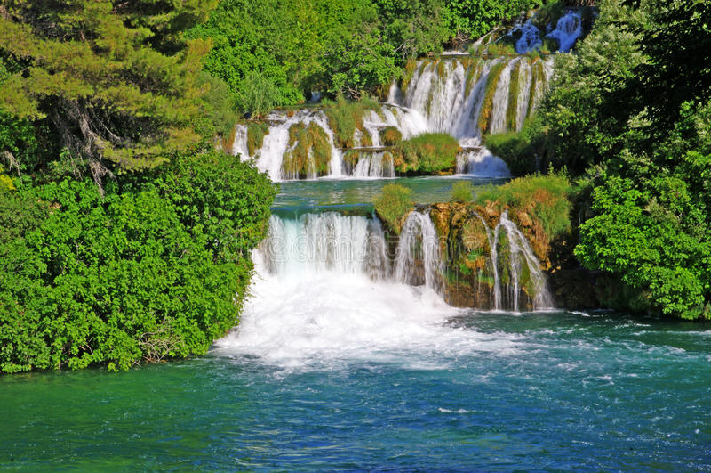 National Park Krka, river Krka, stock images