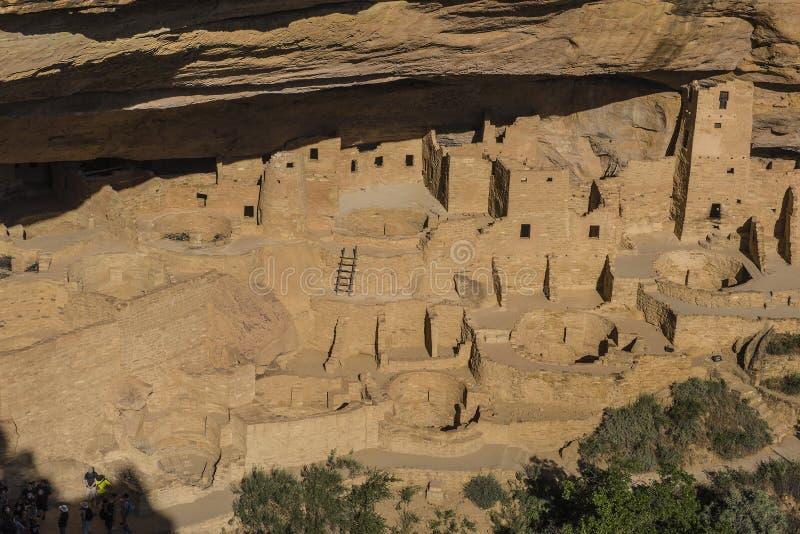National Park Mesa Verde. A national park in southwestern Colorado stock photography