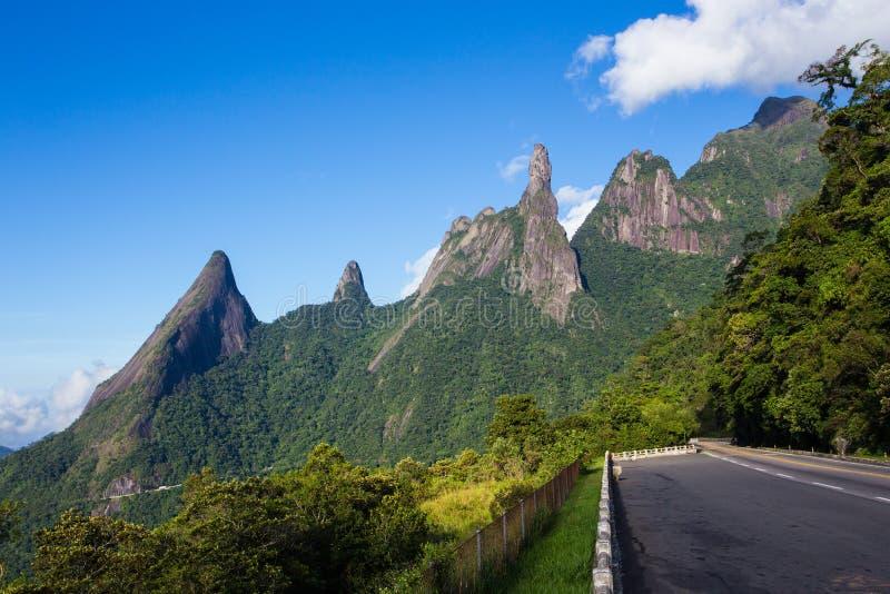 National park Serra dos Orgaos Brazil stock images