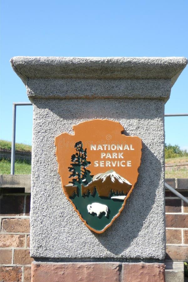 National Park Service imagem de stock
