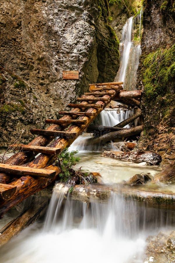 National Park  - Slovakian Paradise, Slovakia Stock Photo