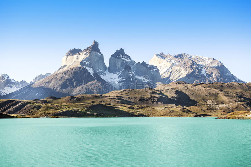 National Park Torres del Paine, Chile. royalty free stock photo