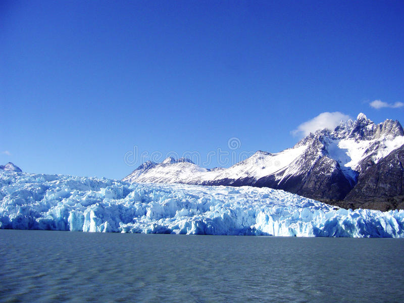National park torres del paine chile stock image