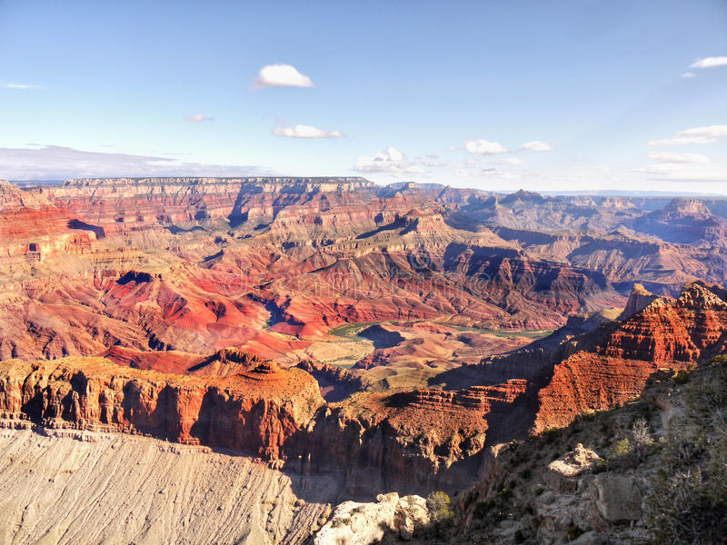 National Parks, Grand Canyon. Grand Canyon, South Rim view - US National Parks Tour. Landscape Arizona, US royalty free stock photo