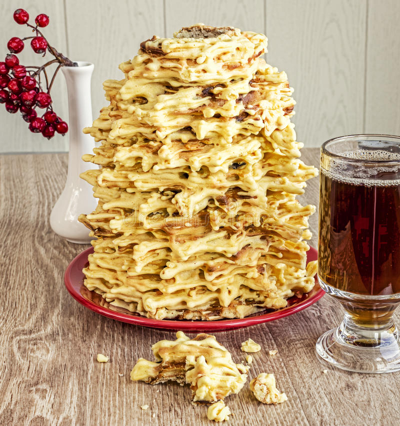 National Polish-Lithuanian dessert royalty free stock image