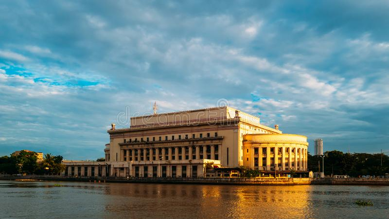 The National Post Office of the Philippines royalty free stock images
