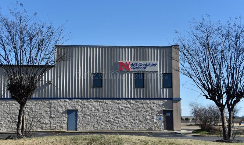 National Pump Company, Memphis, TN stock foto's