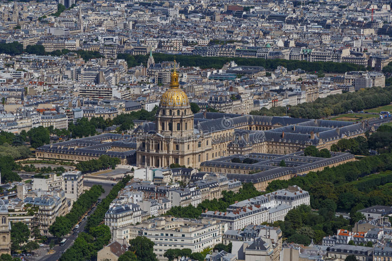 The National Residence of the Invalids in Paris royalty free stock photo