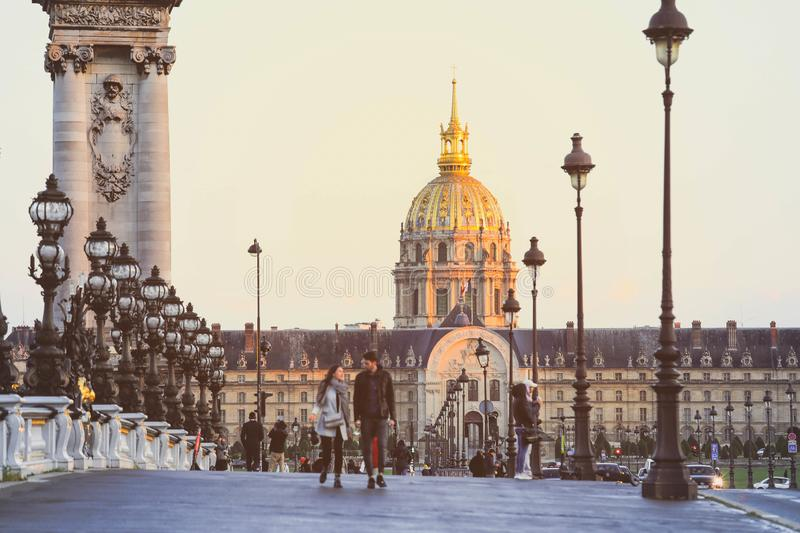 National Residence of the Invalids in Paris royalty free stock photo