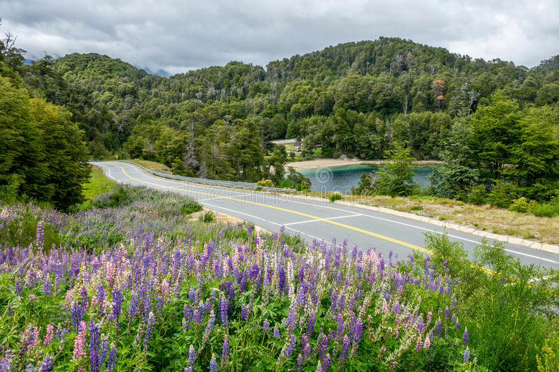 National Route 40 or RN40 royalty free stock photography