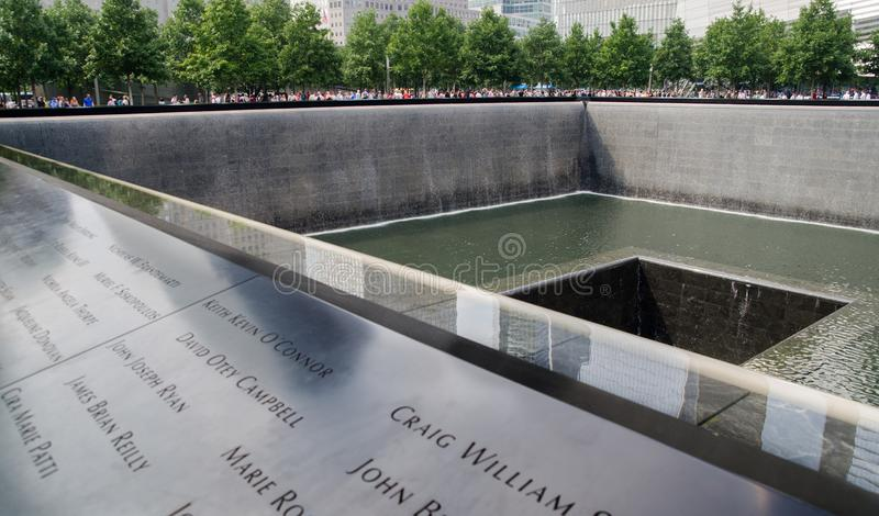 National September 11 Memorial and Museum stock photography
