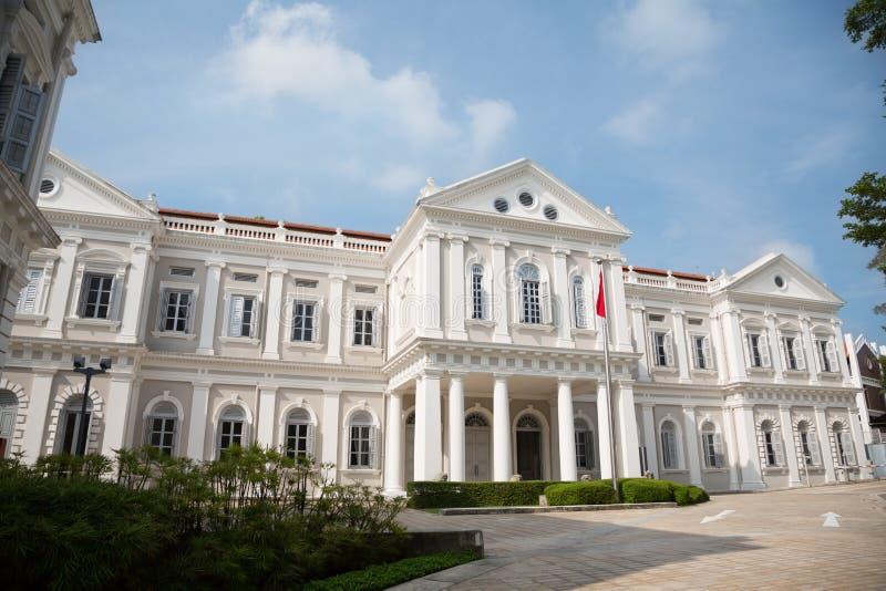 national Singapore muzeum zdjęcia royalty free