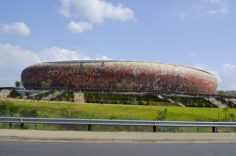 The National Stadium outside Soweto royalty free stock photos