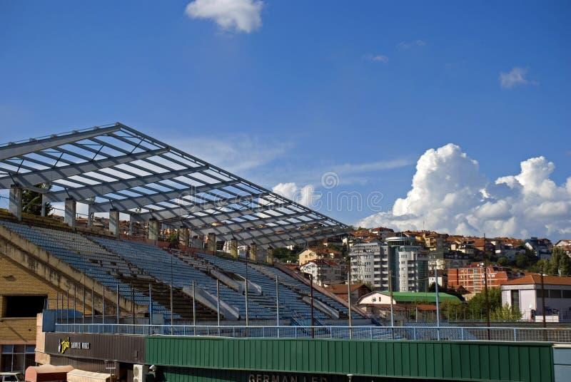 National stadium, Pristina, Kosovo royalty free stock photo