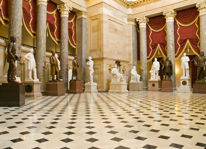 Download National Statuary Hall stock image. Image of distinctive - 7393343