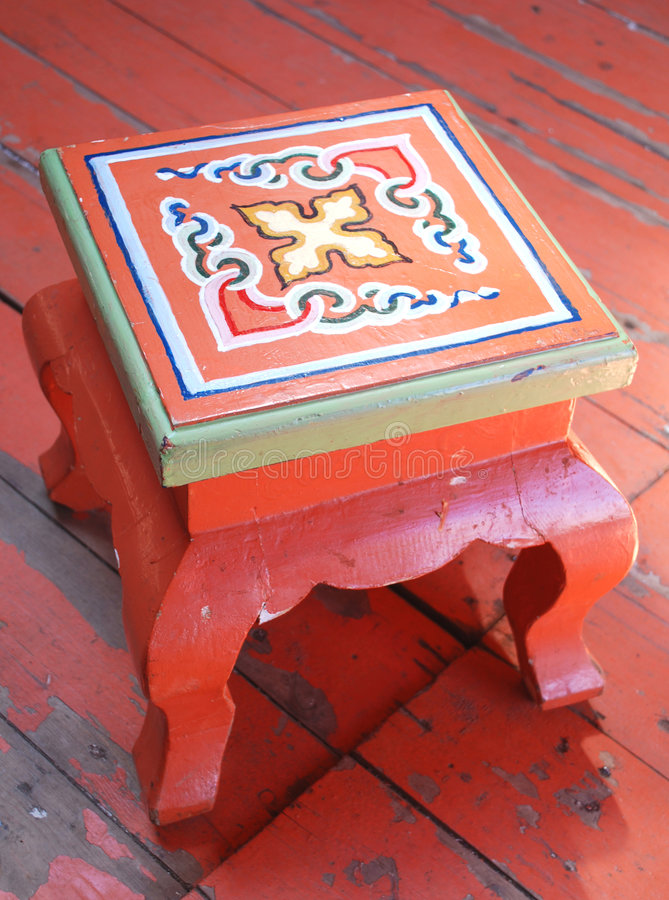 National stool royalty free stock image