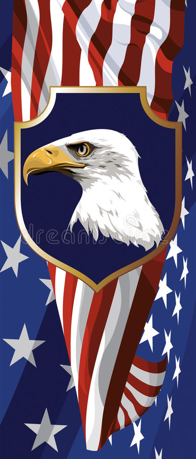 The National Symbol Of The Usa Stock Vector Illustration Of United