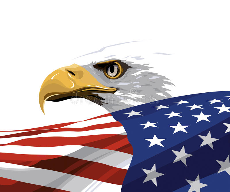 The National Symbol Of The Usa Stock Vector Illustration Of