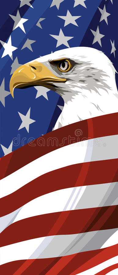 The National Symbol Of The Usa Stock Vector Illustration Of Waving