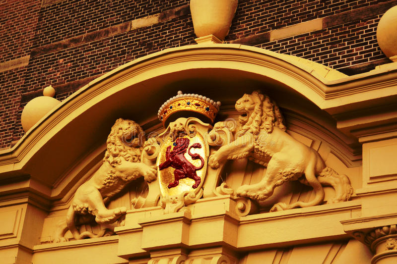 National symbols of the historic buildings stock photo