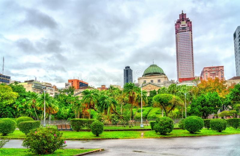 National Taiwan Museum at the 228 Peace Memorial Park in Taipei royalty free stock images