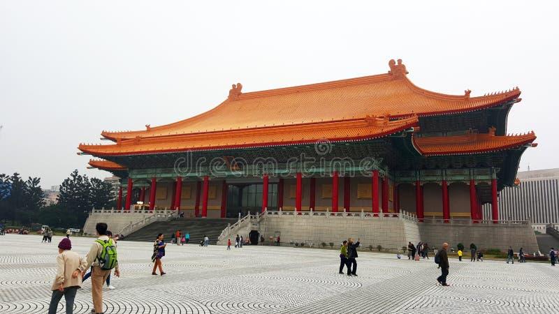 National Theater and Concert Hall of Taipei, Taiwan stock photos