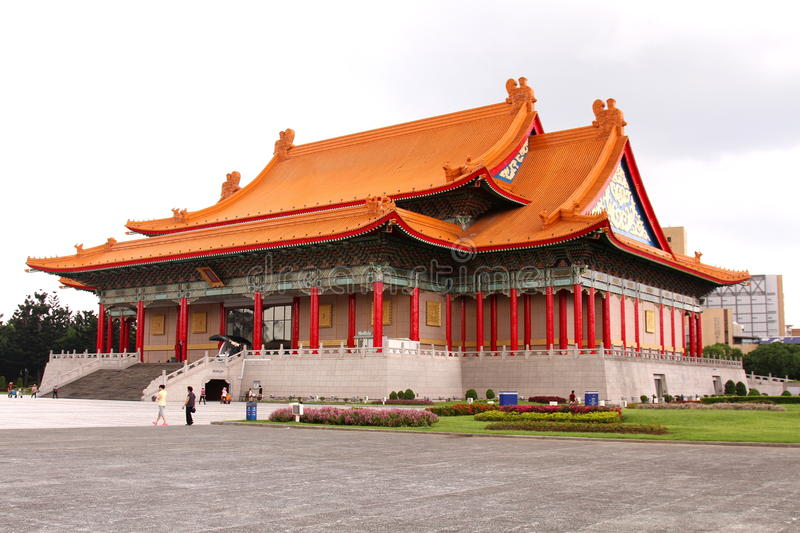 National Theater and Concert Hall, Taipei. The National Theater and National Concert Hall are twin performing arts venues at Liberty Square in Zhongzheng royalty free stock photography
