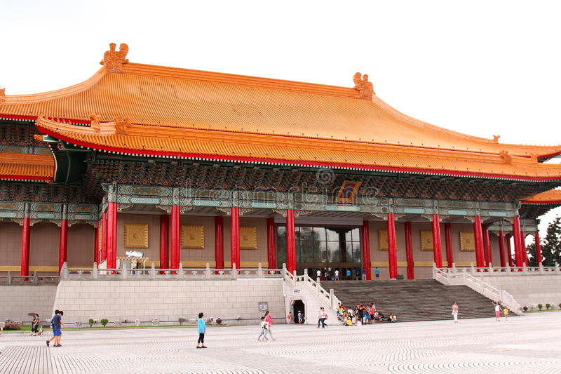 National Theater and Concert Hall, Taipei. The National Theater and National Concert Hall are twin performing arts venues at Liberty Square in Zhongzheng royalty free stock photo