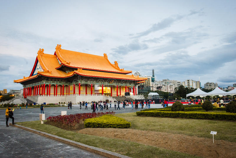 National Theater and Concert Hall, Taipei. The National Theater and National Concert Hall are twin performing arts venues at Liberty Square in Zhongzheng stock image
