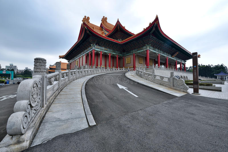 National Theater, Taipei. The national theater is the modern performing art venue at Liberty Square in Zhongzheng District, Taipei, Taiwan royalty free stock photo