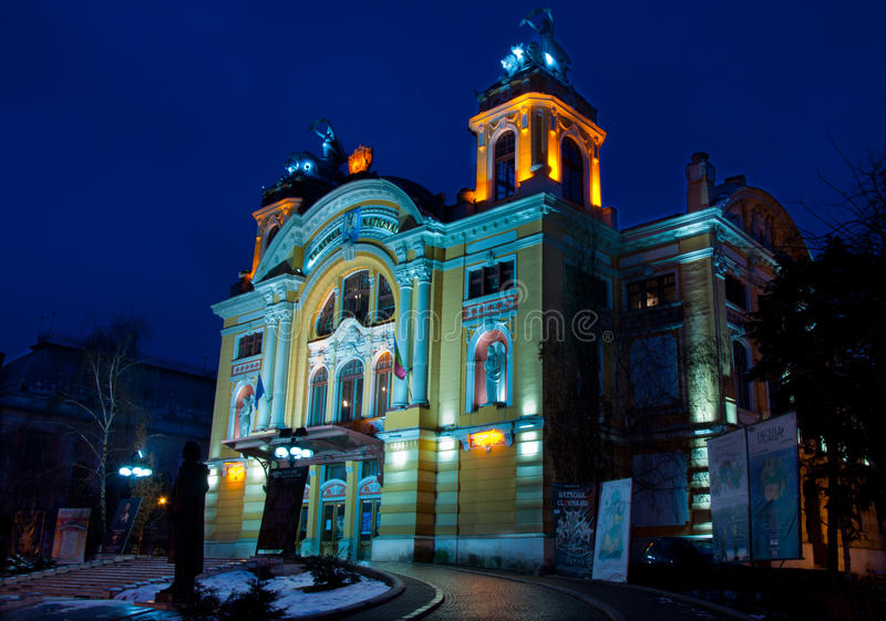 Download National Theatre Of Cluj-Napoca, Romania Editorial Image - Image: 29585590
