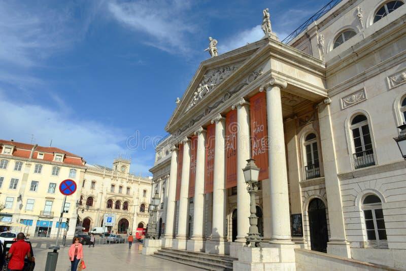 Download National Theatre Dona Maria II, Lisbon, Portugal Editorial Photo - Image: 31909371