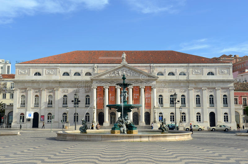 Download National Theatre Dona Maria II, Lisbon, Portugal Editorial Stock Photo - Image: 31909798
