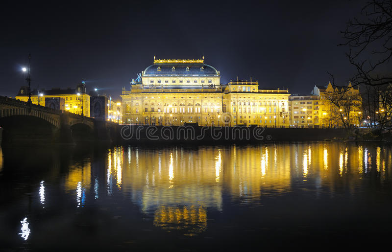 Download National Theatre in Prague stock image. Image of architecture - 11933727