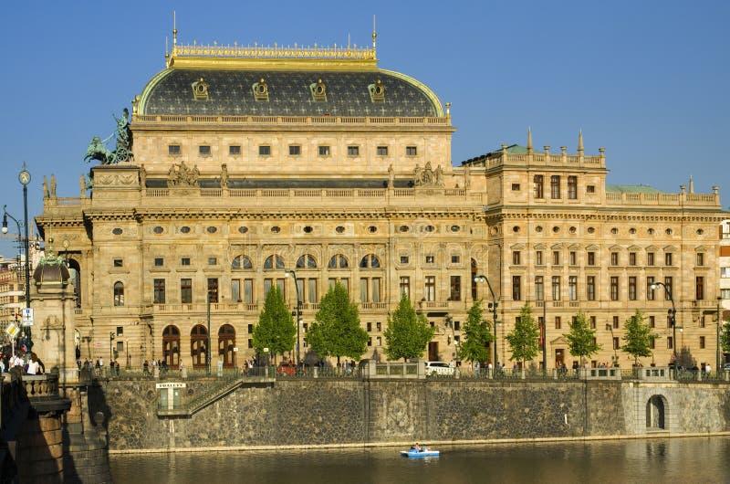 National theatre - Prague stock photos