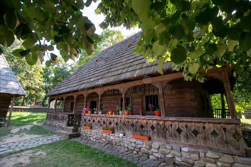 National Village Museum - Bucharest, Romania royalty free stock photo