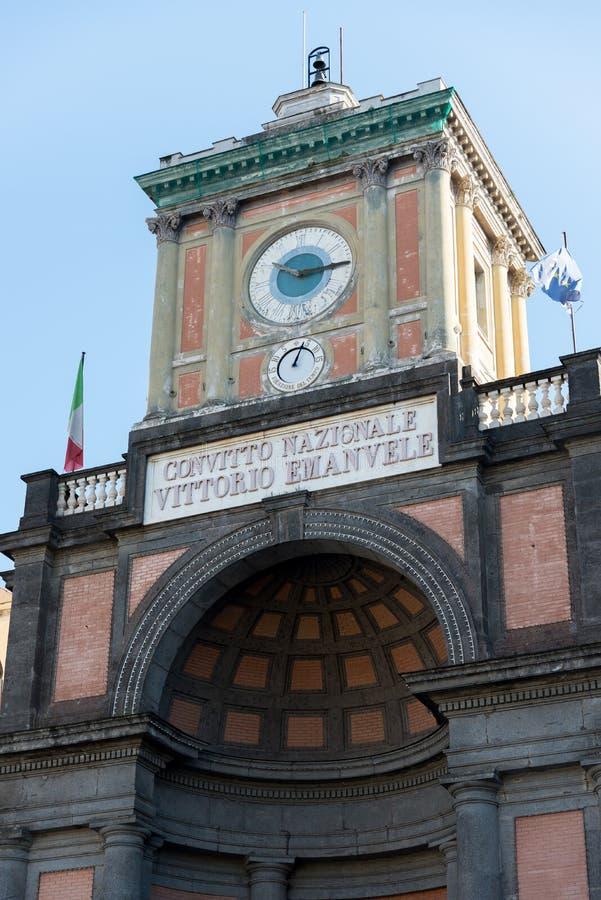 National Vittorio του Emanuele οικοτροφείο - Ιταλία στοκ εικόνα με δικαίωμα ελεύθερης χρήσης