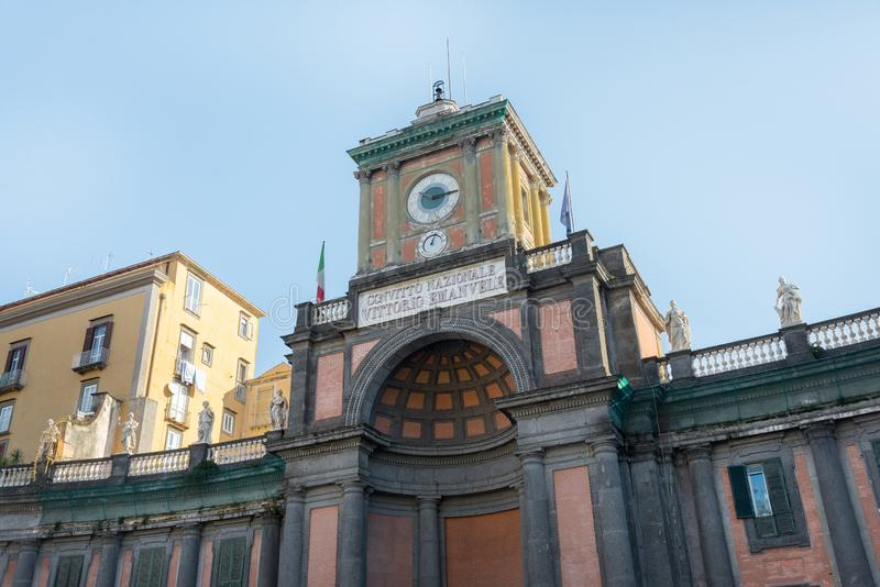 National Vittorio του Emanuele οικοτροφείο - Ιταλία στοκ εικόνες