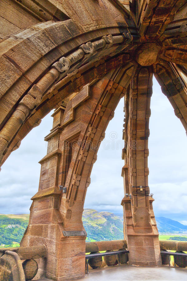 National Wallace Monument royalty free stock image
