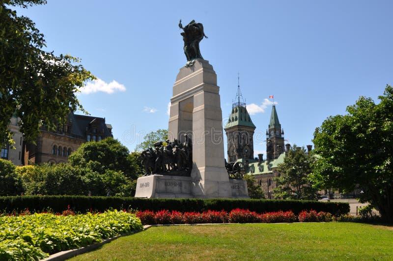 National War Memorial in Ottawa royalty free stock photos