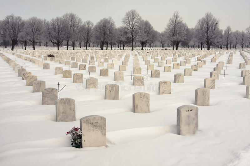 Download National WW2 Cemetery editorial image. Image of frost - 13012780