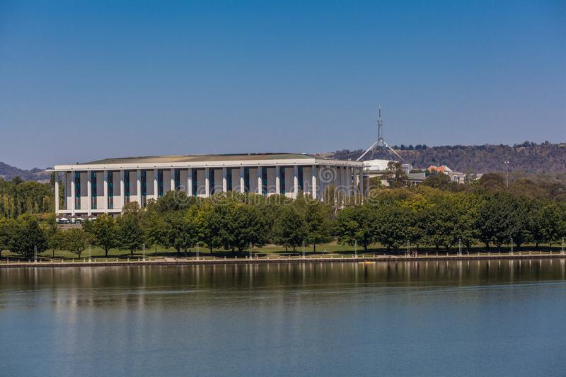 Nationalbibliothek von Australien, Canberra stockfotos