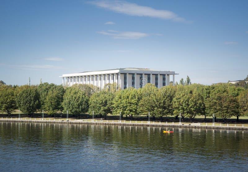 Nationalbibliothek von Australien, Canberra lizenzfreie stockbilder