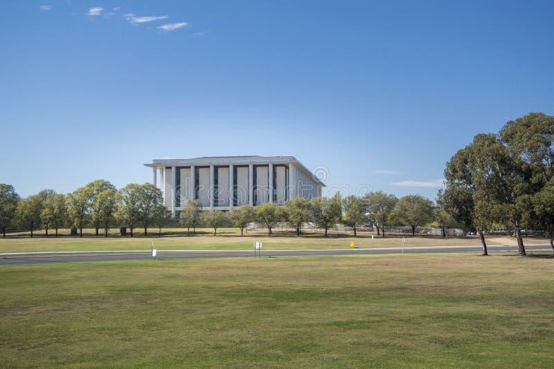 Nationalbibliothek von Australien, Canberra lizenzfreies stockbild