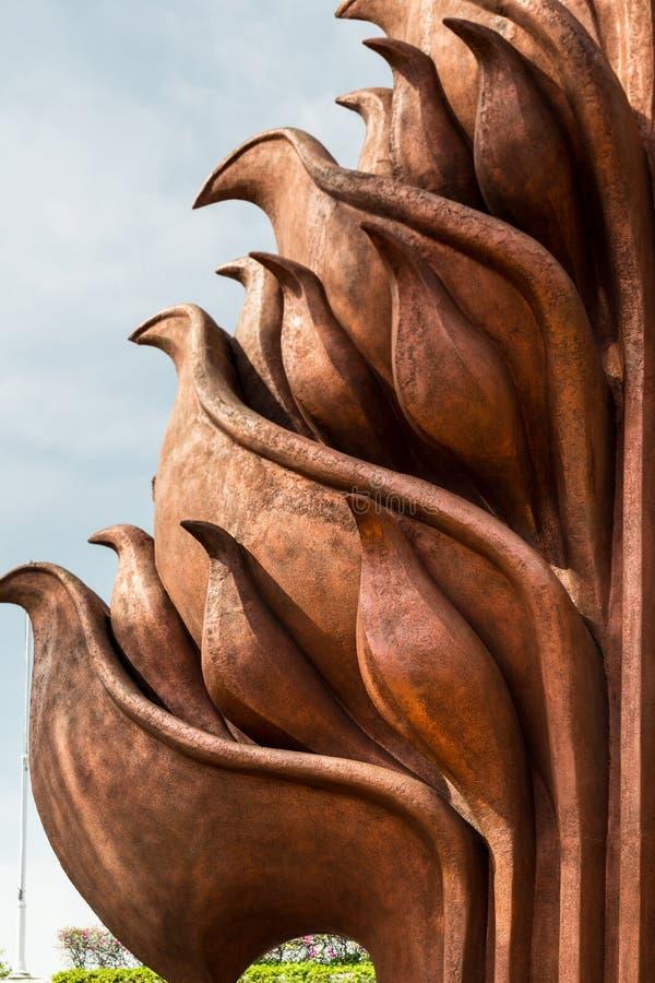 Nationaldenkmal in Surabaya, Held-Tag, Osttimor, Indonesien lizenzfreies stockfoto
