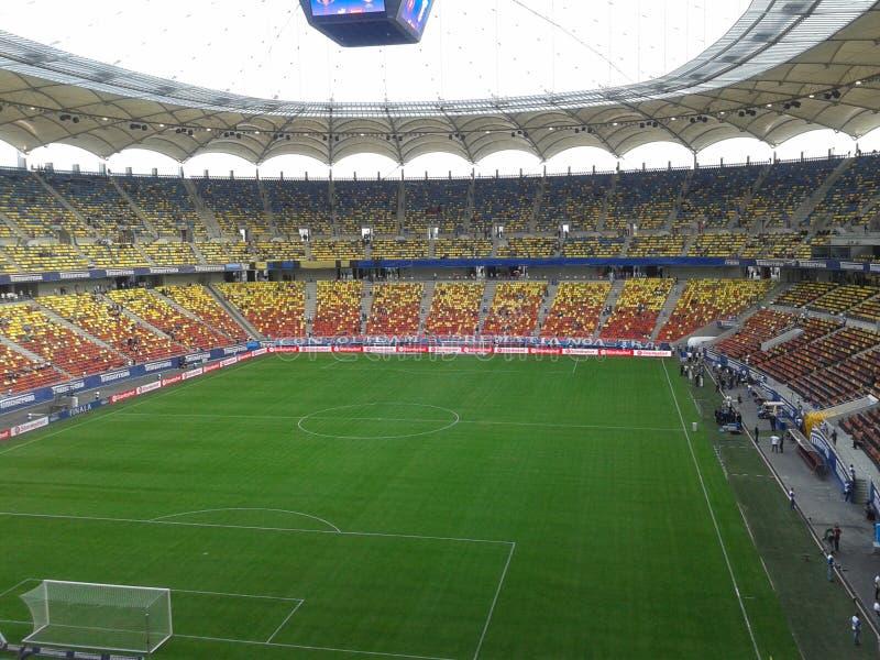Nationale Arena Bucharest lizenzfreie stockbilder