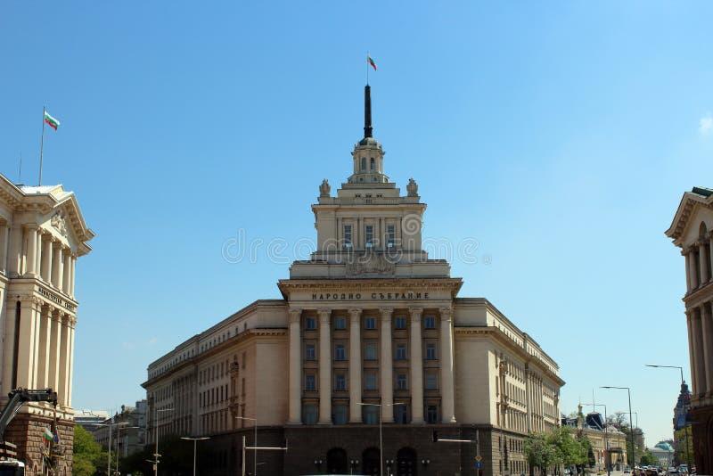 Nationale assemblee Bulgarije stock fotografie